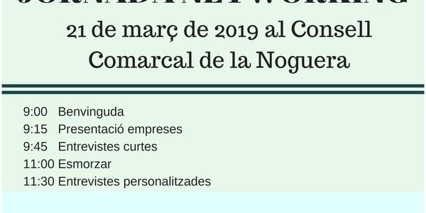 Jornada Networking al Consell Comarcal de la Noguera