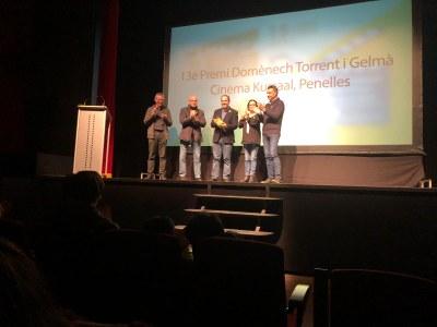 El cinema Kursaal de Penelles guanya un premi a la Mostra d'Animació i Curtmetratges de cassà de la Selva