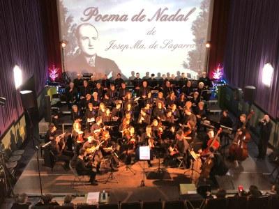 """Estrena del projecte musical """"El Poema de Nadal"""" a Penelles"""