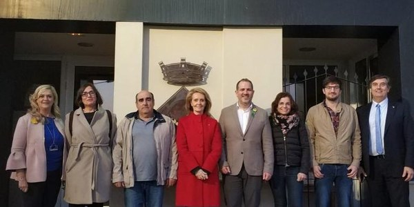 La Consellera de Cultura, Mariàngela Vilallonga, visita Penelles