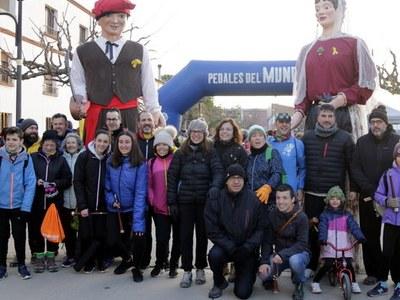 La Marxa de la Boira de Penelles supera la xifra rècord amb 830 participants