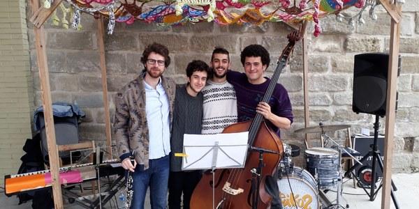 Integrants del grup Mateo's Quartet