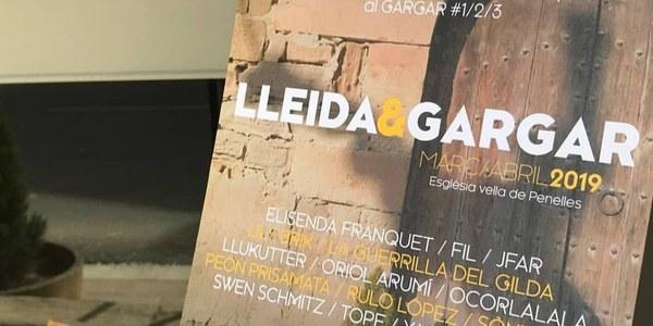 Cartell de l'exposició LLEIDA&GARGAR