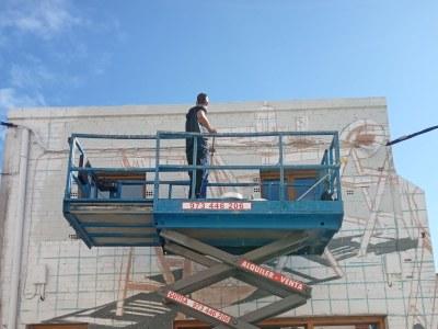 Penelles tanca amb èxit el seu festival de murals més llarg