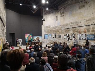 """Presentació del llibre """"Floriran Roselles"""" de Marcel·lí Mora i concert amb en Gerard Barrachina i l'Anna Miarnau"""