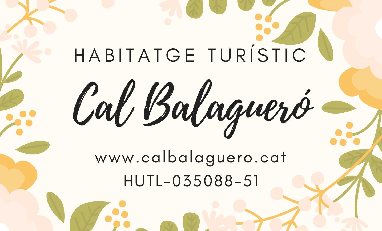 Habitatge Turístic Cal Balagueró